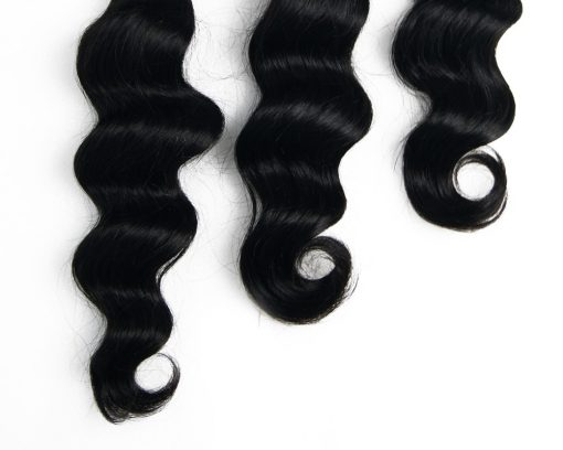 brazilian loose deep wave hair-ends