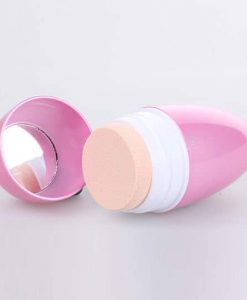 Vibration powder puff pink