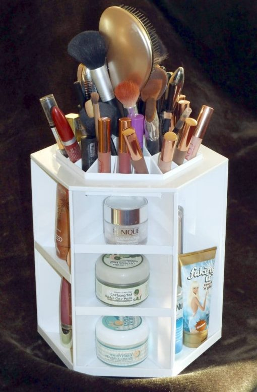 Rotating Cosmetic Organizer