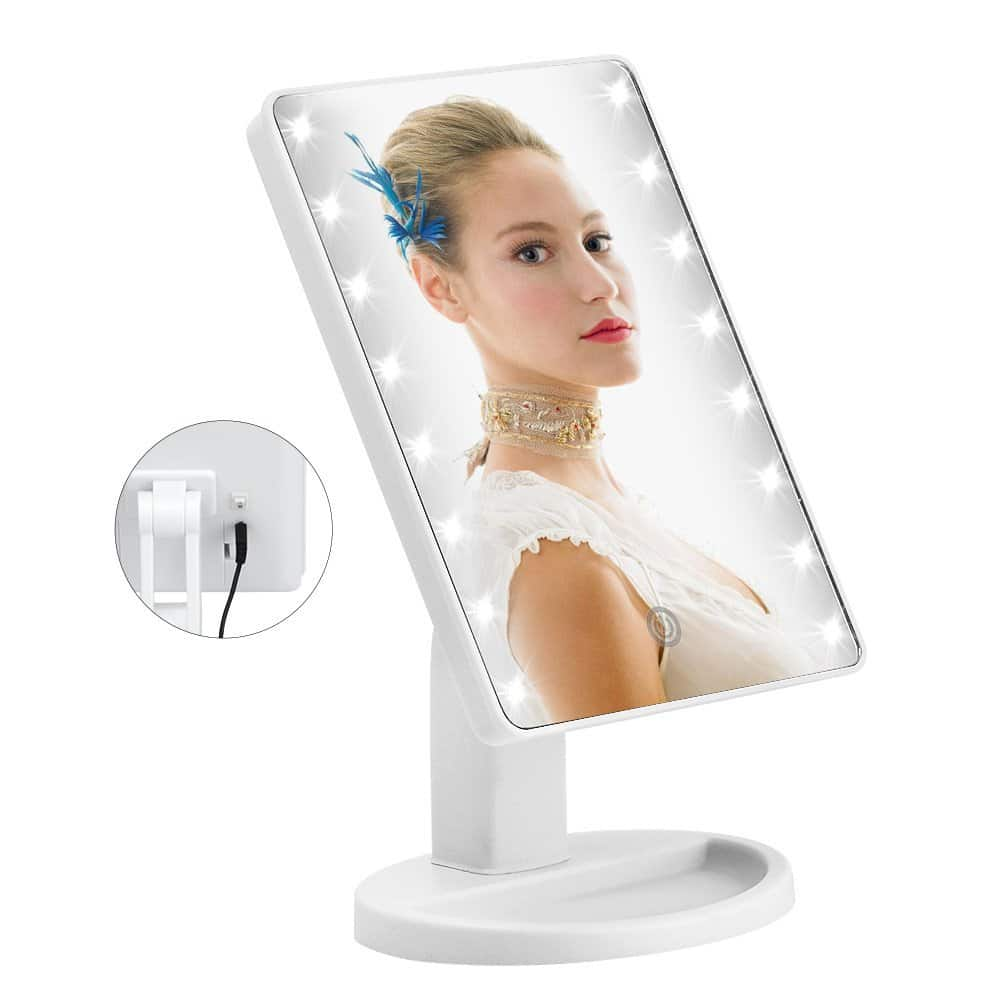 16 led makeup spegel
