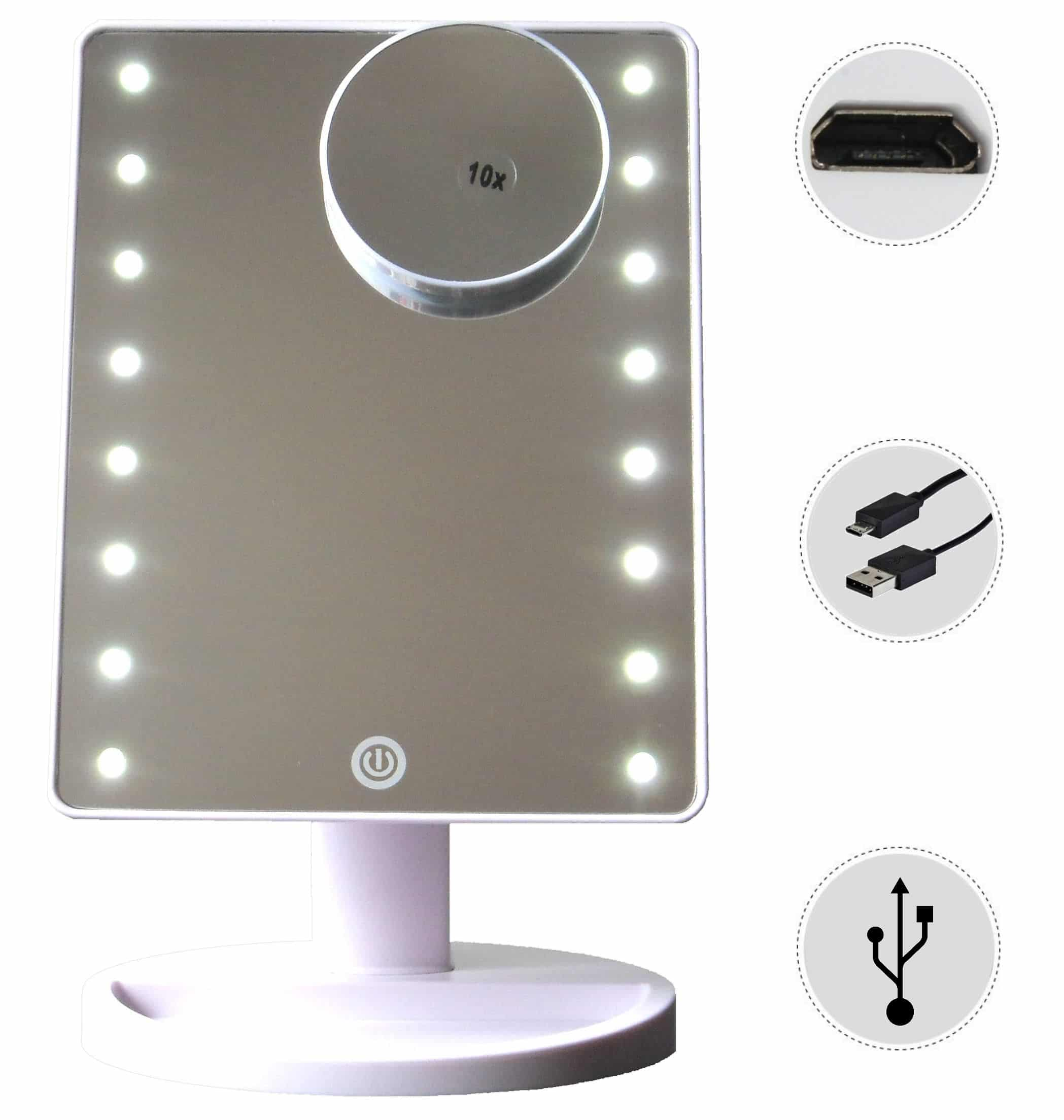 Mirror Light makeup table