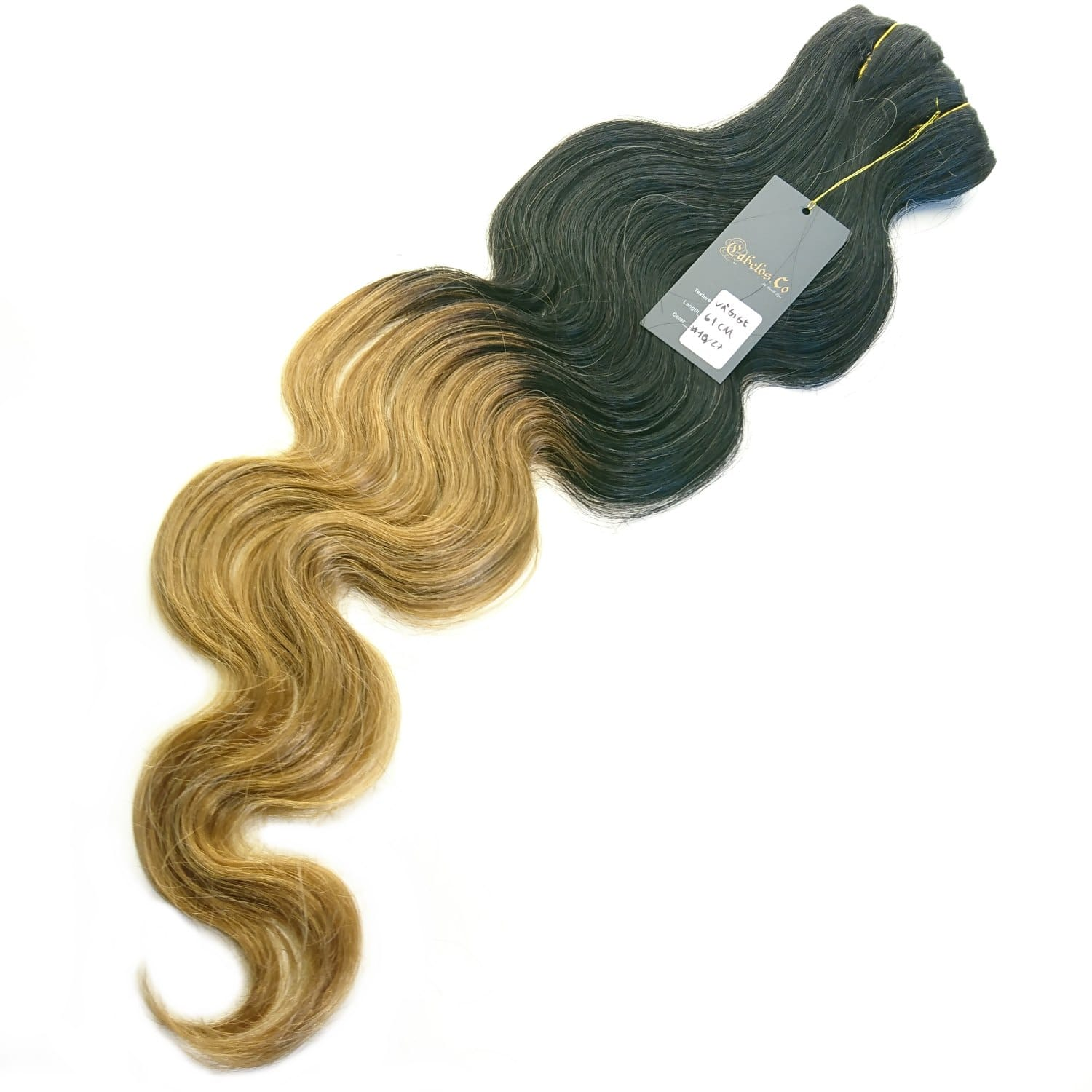 Ægte hår Extension Ombre body wave