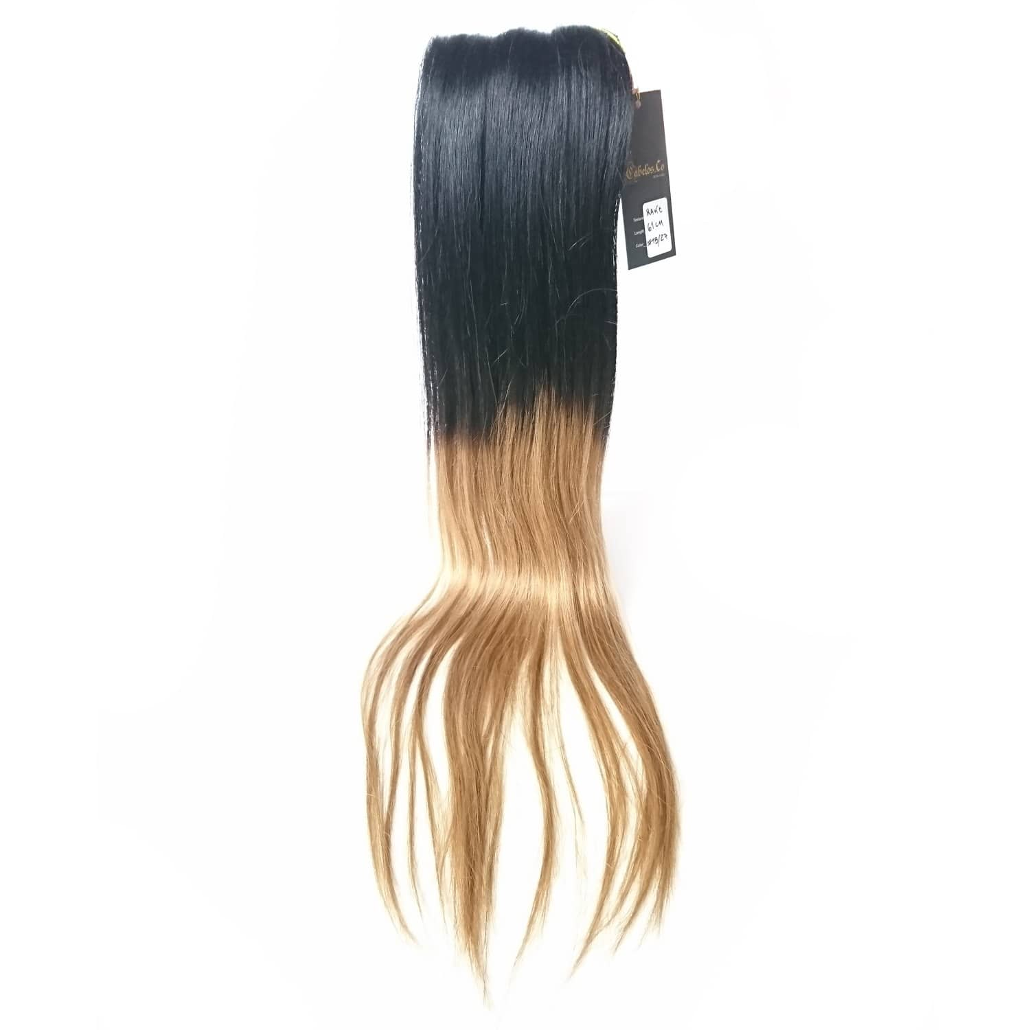 Real Hair Extensions Ombre Clip In Straight Cabelos