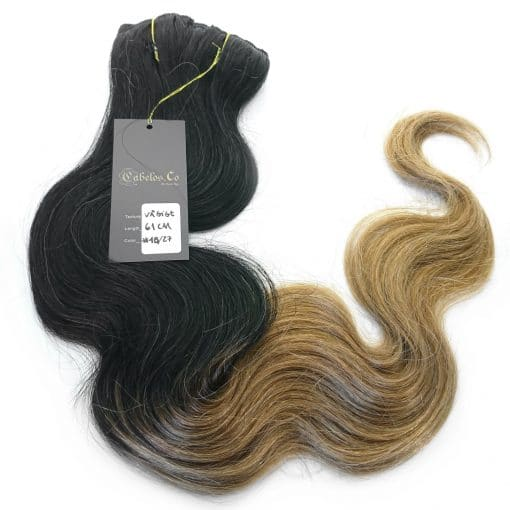 Real Hair Extension Ombre body wave