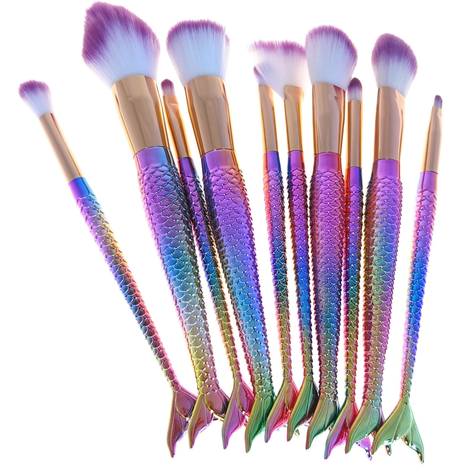 makeup-brush-mermaid-set