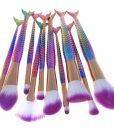 Makeup Brush Mermaid Set