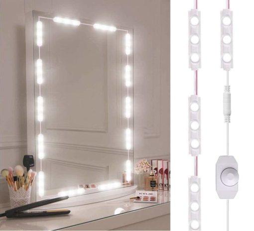 produkt sminkspegel ljus kit