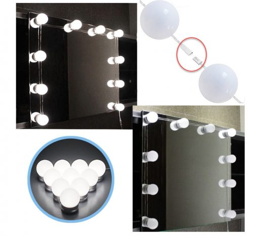 Vanity Mirror Light Kit