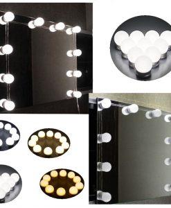 Hollywood Spegel Lampor Kit Pro Glow multifärg