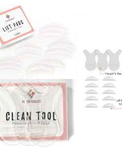 Lashlift lift pads clean tool